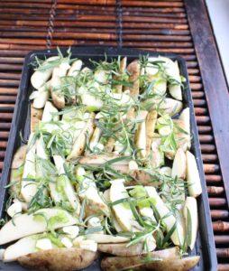 Rosemary Garlic Pepper Potato Bakes