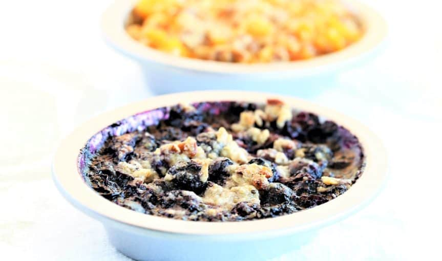 Blueberry Pecan Crumble