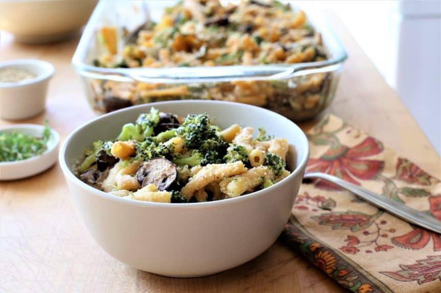 Broccoli Mushroom Tetrazzini