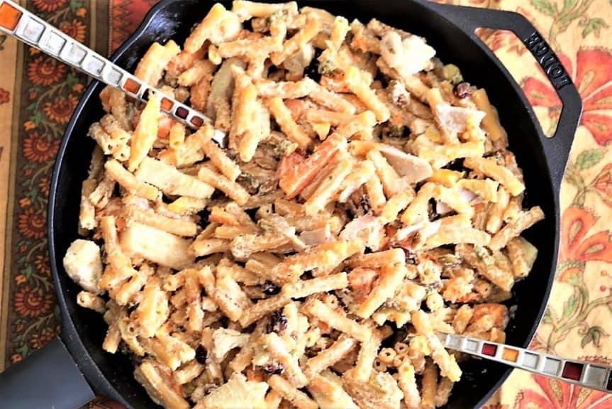 Lentil Pasta With Roasted Vegetables & Jalapeno Cream