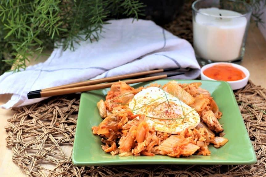 Jackfruit Kimchi Fried Rice