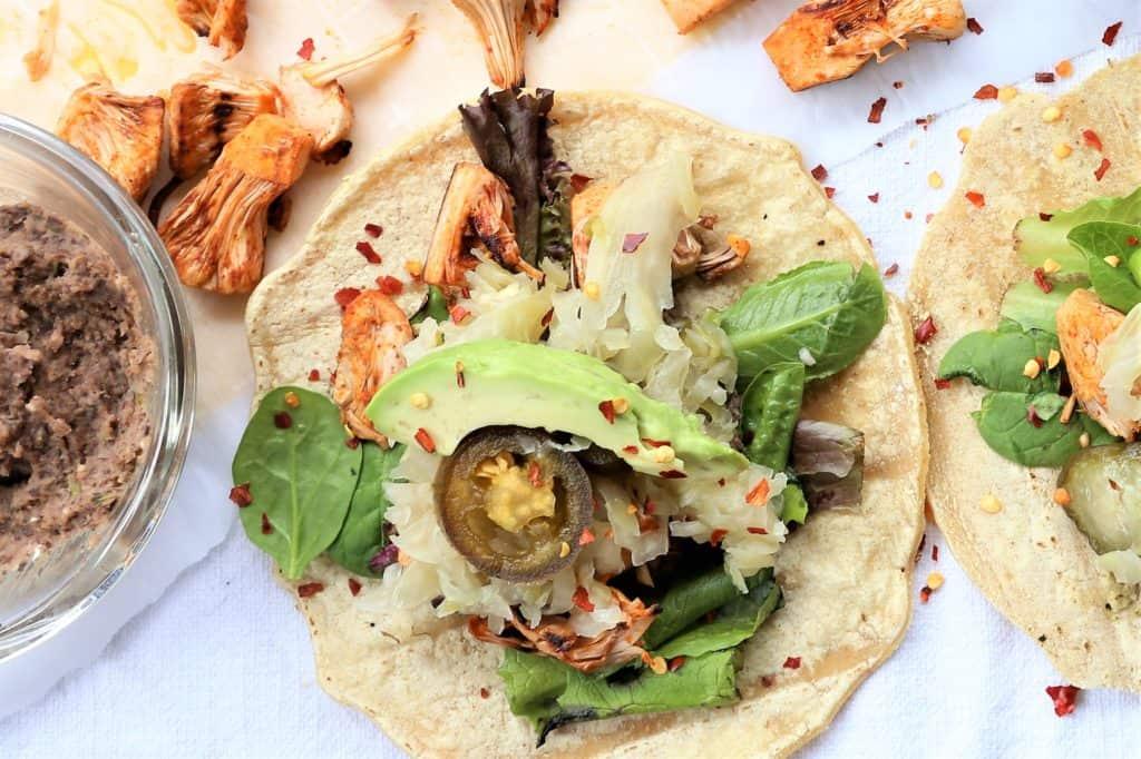 Grilled Jackfruit Tacos