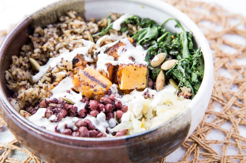 Grilled Macrobiotic Bowl
