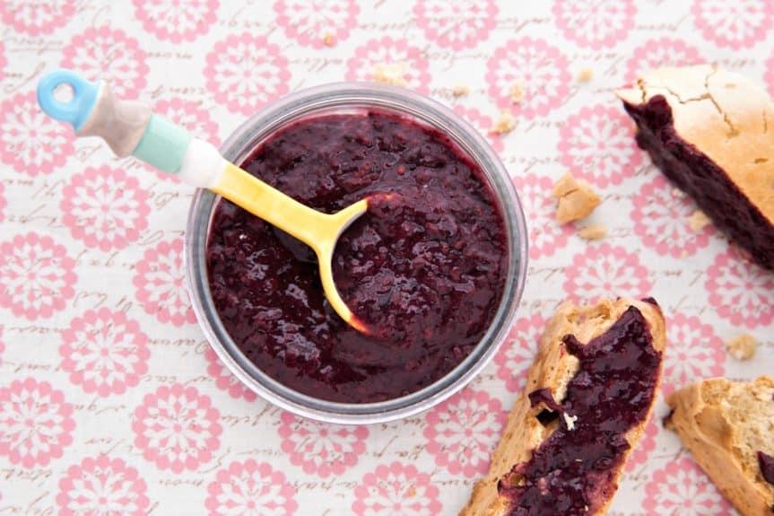 Instant Pot Blackberry Jam